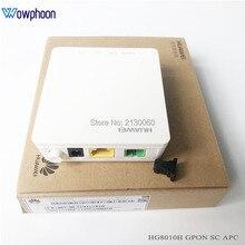 جديد هواوي HG8010H Gpon البصرية محطة ONU ONT مع 1 GE منافذ إيثرنت ، SC APC واجهة البرامج الثابتة الإنجليزية