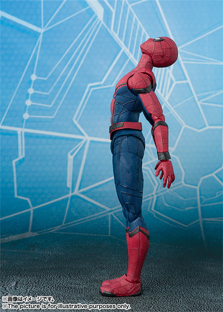 Фигурка Человек-паук 14 см фигма 5