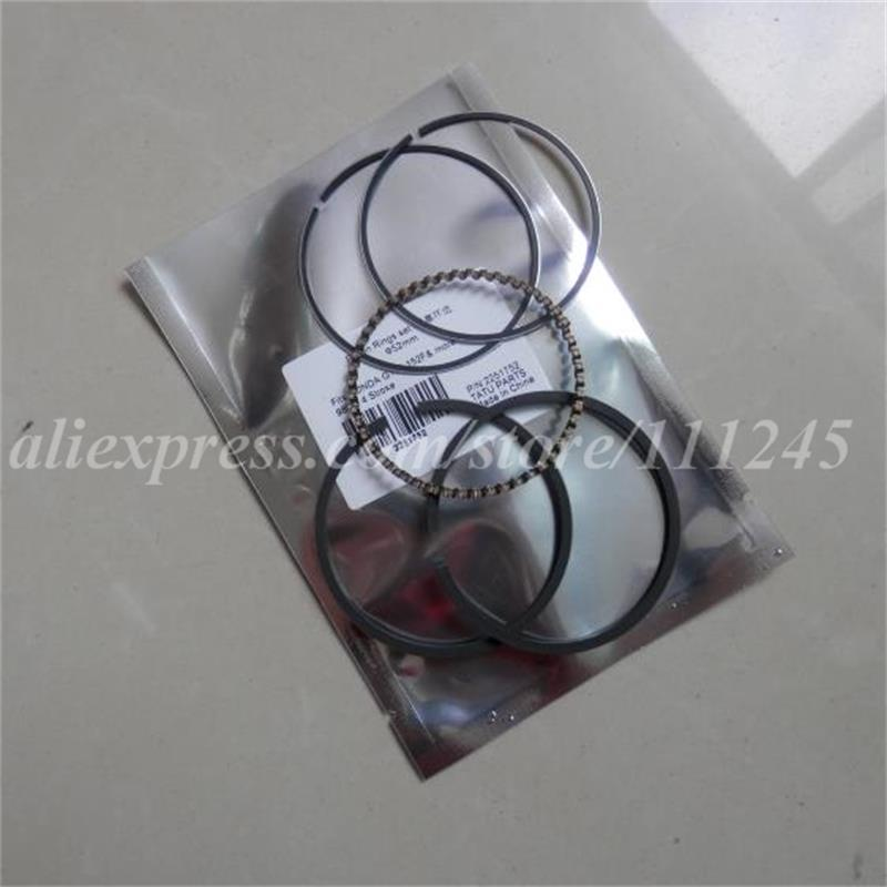 G200 PISTON RINGS SET 67MM FOR HONDA GV200 EG1500 2200 ED1000 EM1800-2200 HS50 HR21-5 F/<font><b>FR500</b></font> WA/WB30 COMPRESSION OIL KOLBENRING image
