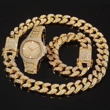 Дропшиппинг мужские s часы лучший бренд класса люкс Iced Out часы с бриллиантами для мужчин нержавеющая сталь Бизнес наручные часы Человек хип-хоп