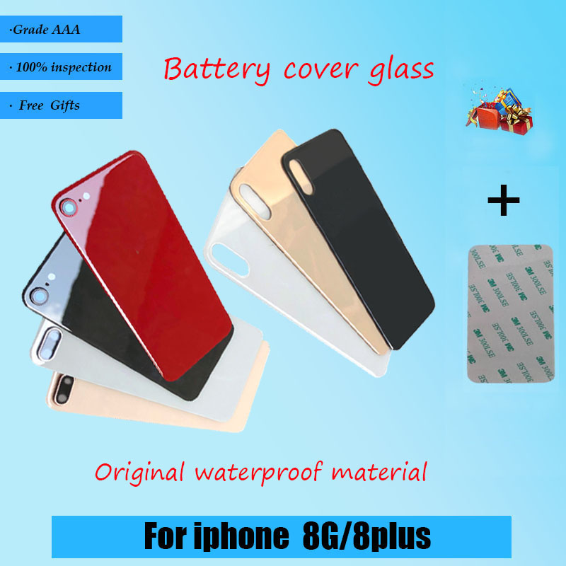 Sticker Battery Back-Cover Adhesive Door-Glass iPhone 8plus Brand-New Original for 8G title=