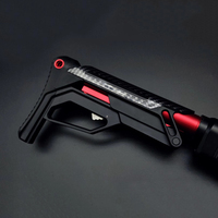 PDW XM-T02 Nylon Tactical Toy Gun Accessories Stock Gel Blaster Upgrade Extended Stock Upgrade Part Replacement Accessories 1