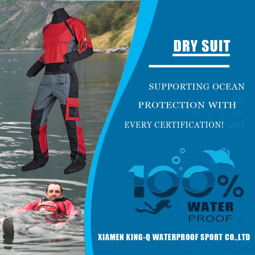 Kayak Drysuit Dry Suit Rescue Immersion suit Waterproof Clothing for SUPing, Rafting,Sailing,Fishing,Paddling,ATV&UTV Riders kayak suit
