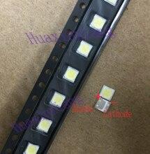 100 ピース/ロット LG SMD LED 3535 6V 2 ワットコールドホワイトハイパワーテレビ/液晶バックライトアプリケーション