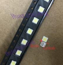 100PCS/Lot LG SMD LED 3535 6V 2W Cold White High Power For TV/LCD Backlight Application