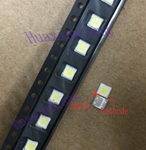 Image 1 - 100PCS/Lot LG SMD LED 3535 6V 2W Cold White High Power For TV/LCD Backlight Application