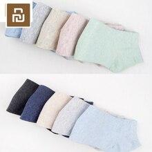5pcs/set Original Youpin 365WEAR Antibacterial Socks for Man and Women Comfortable Breathable Socks Boat Sock High Quality