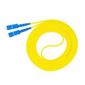 Image 2 - 10 шт. пакет SC UPC Simplex, оптоволоконный коммутационный шнур SC UPC 3,0 мм, оптоволоконный джемпер