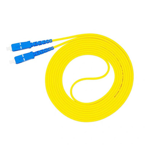 Image 2 - 10PCS/bag SC UPC Simplex mode fiber optic patch cord SC UPC 3.0mm fiber optic jumper