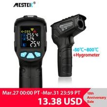 MESTEK IR01 digital thermometer humidity meter infrared thermometer hygrometer temperature meter pyrometer Imager termometro