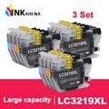 INKARENA комплект из 3 предметов; для Brother LC 3219 совместимый картридж с чернилами LC3219 MFC-J5930DW MFC-J6530DW MFC-J6930DW MFC-J6935DW принтеры