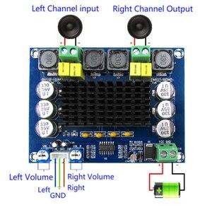 Image 1 - Parte de arriba, nueva calidad, TPA3116D2 D2 120W + 120W, placa amplificadora Digital de potencia, placa amplificadora de Audio de DC12 26V de doble canal