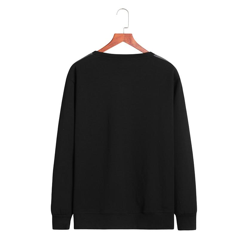 Nieuwe Plus Size 8XL 9XL 10XL Homme Kleding T shirt Mannen T shirt Lange Mouwen Herfst Casual Anker Katoen Printing Tops o hals - 2