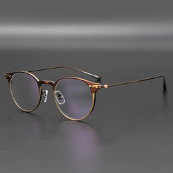 Титановые очки, оправа для мужчин OV1181, ретро оправа, Брендовые очки, оправа для глаз, очки для женщин, титановые очки с коробкой