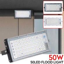 50w Spotlight IP65 Security Lamp 50 LED Durable Energy-Saving LED Flood Light Outdoors Lamp Stadium Waterproof Highway Home Lamp