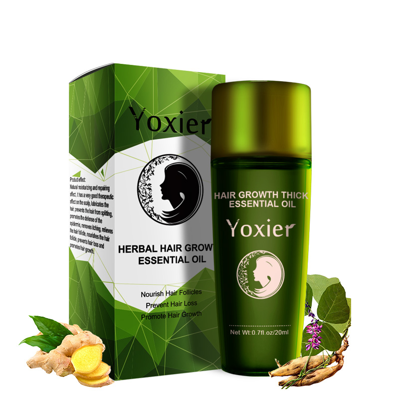 Image 5 - Yoxier Herbal Hair Growth Essential Oil Shampoo hair care styling Hair Loss Product Thick Fast Repair Growing Treatment Liquid-in Hair Loss Products from Beauty & Health