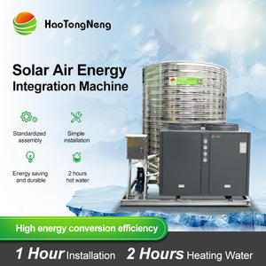 Heat-Pump Water-Heater Air-Source Commercial Haotongneng Solar Construction-Site/factory