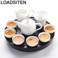 Teaset kung fu theepot akcesoria do kuchni organizador de viagem com infusor pote casa acessórios decoração bule de chá conjunto|Jogos de chá| |  -