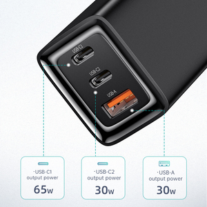 Image 4 - Mcdodo 65ワットガンusb充電器急速充電4.0タイプc pd充電器ポータブルミニ急速充電器iphone × xiaomi macbook proのノートパソコン