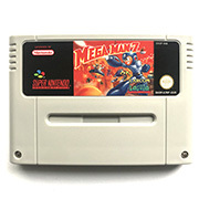 Mega Man 7 16bits game cartidge for pal console