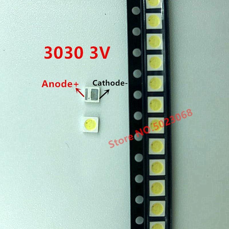 Led SMD Diode 3030 3V 1.6W Original For Led TV EVERLIGHT 3V Repair  Backlit For TVS Cool White Super Bright
