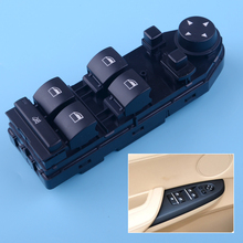 Happy Shop Side Mirror Control Switch Black Driver Side Window Lifter Mirror Control Switch Fit for BMW E83 X3 2004 2005 2006 2007 2008 2009 2010 replacement