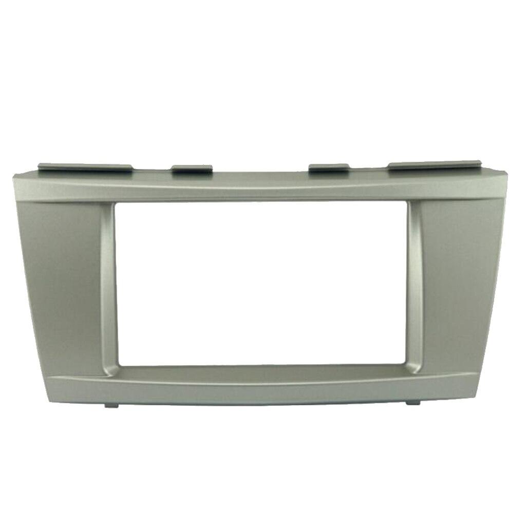 Car Dash Radio 2DIN Frame Fascia Panel Trim For Toyota Camry 2006 - 2011