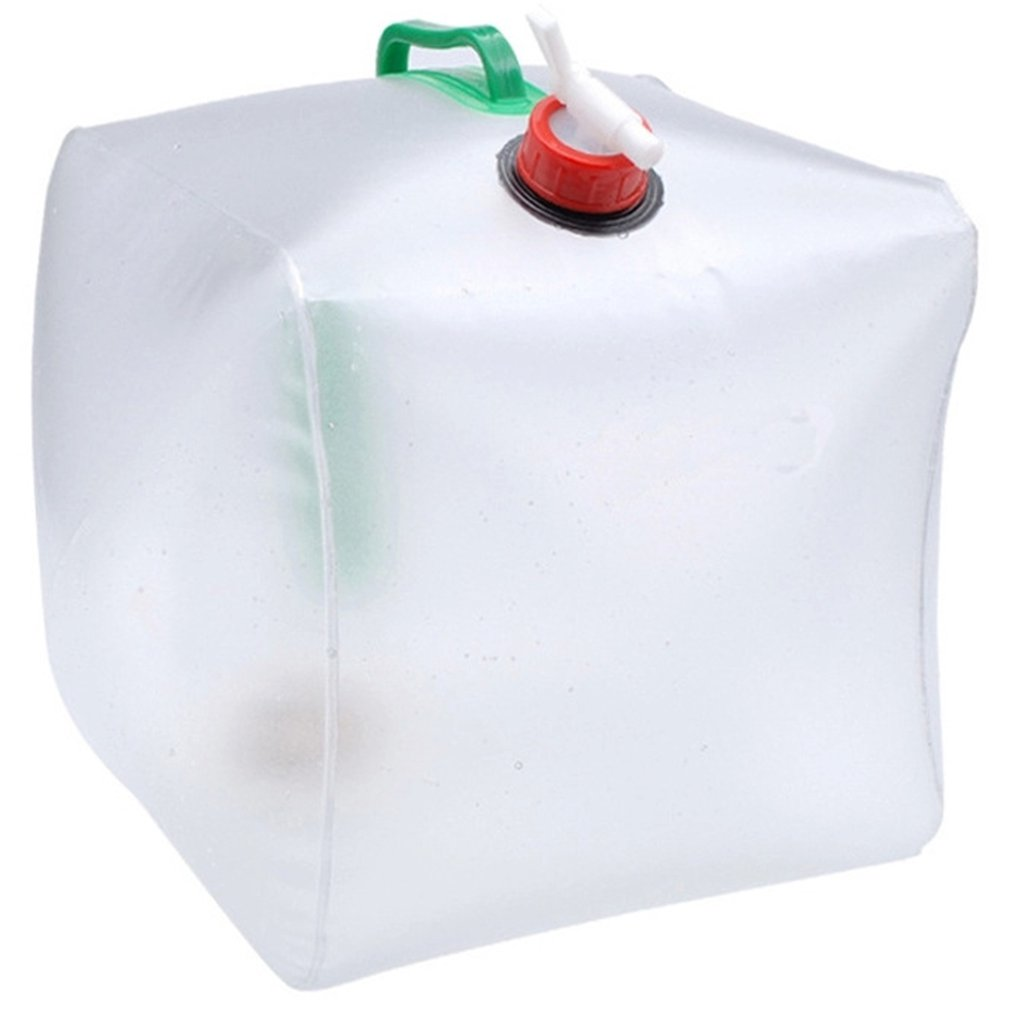 20L Folding Drinking Water Bag Outdoor Sports Camping Hiking Travel Water Storage Container Drink Carrier Holder
