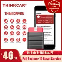 Thinkcar Thinkdriver Bluetooth OBD2 tarayıcı otomotiv OBD 2 IOS araç teşhis aracı kod okuyucu OBD Android tarayıcı pk thinkdia