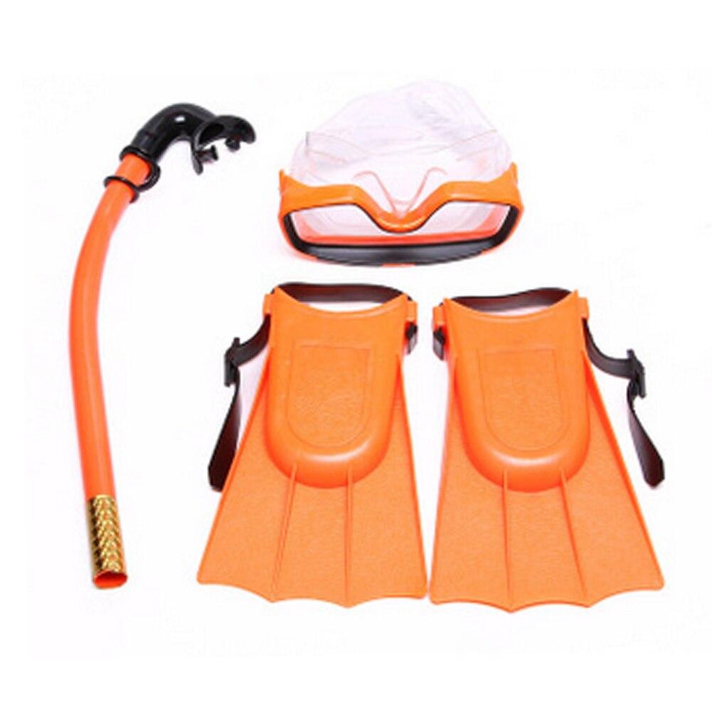 Scuba Goggles Mask Fin Snorkel Set Dive Gear Snorkeling Swimming Diving Kids Set