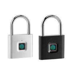 Blokada linii papilarnych bezkluczykowa inteligentna biometryczna elektroniczna kłódka antykradzieżowa|Zamki elektryczne|   -