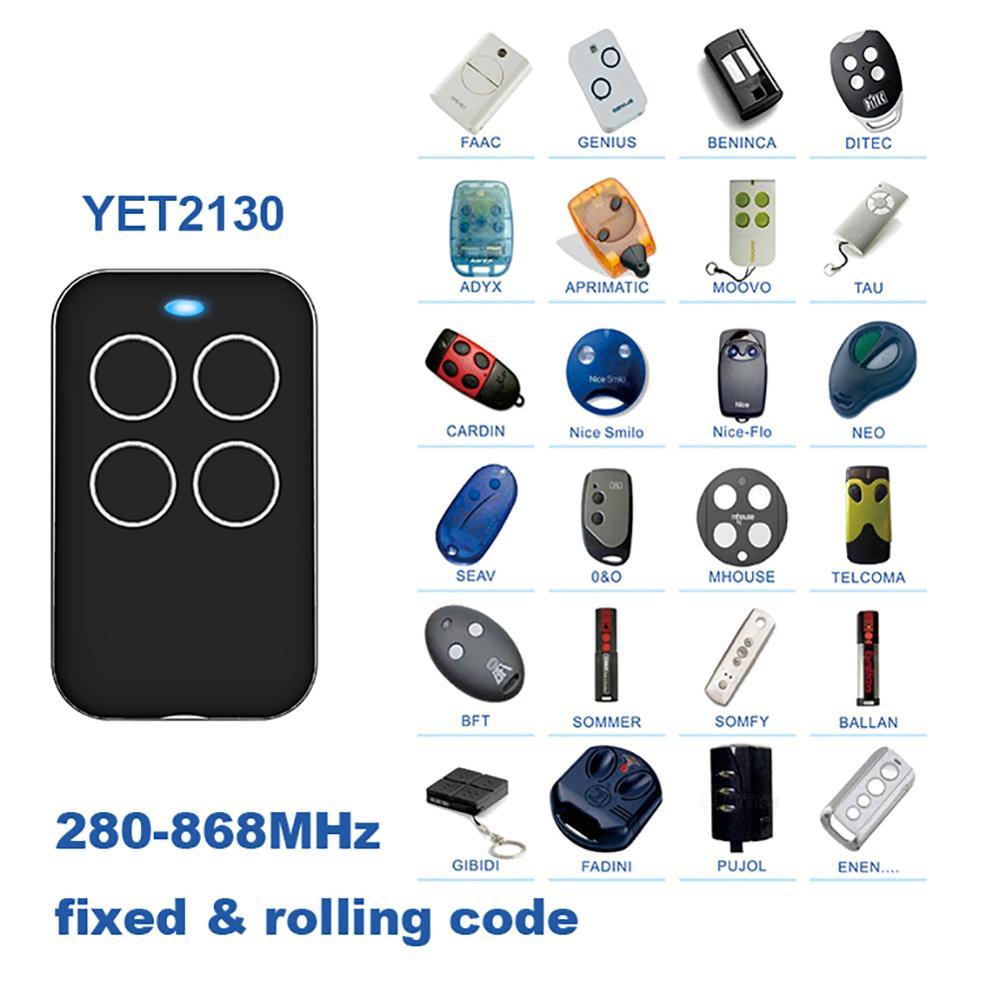 280-868MHZ universel Fix porte roulante porte de Garage télécommande duplicateur outil pour porte Garage porte alarme porte automatique nouveau