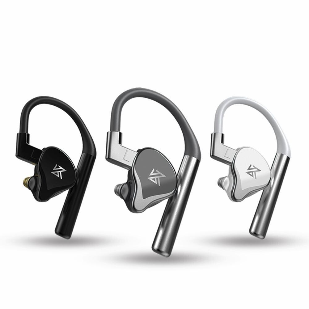 Auriculares KZ BA10 controlador de armadura equilibrada 5BA auriculares de Bajo HIFI en Monitor de oído auriculares deportivos auriculares de cancelación de ruido - 4