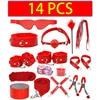 14 PCS Red
