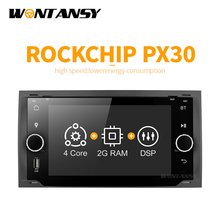 Android 9.0 PX30 dvd Dell'automobile per Ford focus Mondeo S-max c-max smax con radio gps multimediale player 1024*600 di navigazione(China)