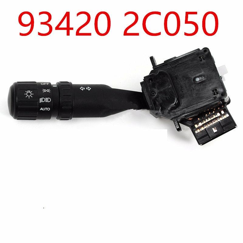Genuine Hyundai 93410-2C000 Lighting and Turn Signal Switch Assembly