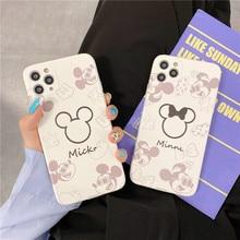 2021 Disney for iphone 7/8 plus x xsmax xr se2020 iphone11/12 pro Max cute girl couple creative phone case