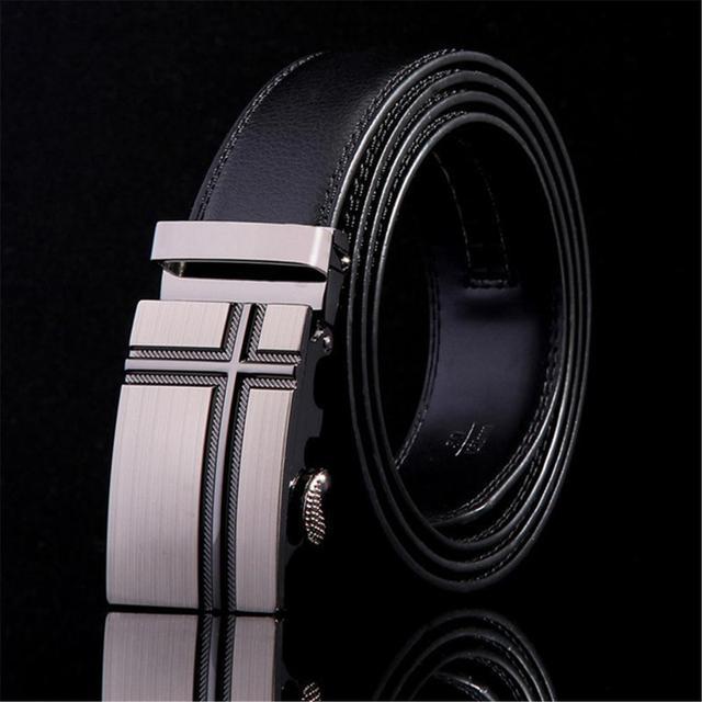 Designer Cowhide Leather Belt 1
