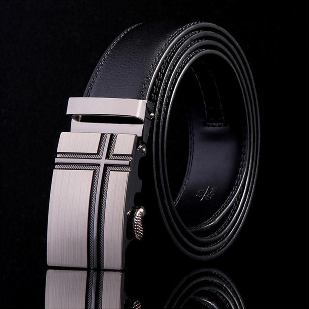 Men Belt Fashion Luxury Belts For Men Designer Belts Men High Quality New Designer Automatic Buckle Cowhide Leather