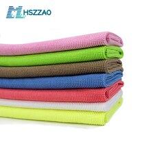 Limpeza de lavagem de carro toalha de microfibra macia absorvente toalha de prato pano de limpeza óculos de pano para fábrica de alimentos pbf, oficina livre de poeira
