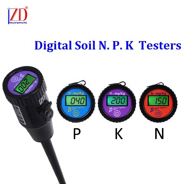 Digital Soil Instant Available NPK Fertility Nutrient Tester Meter