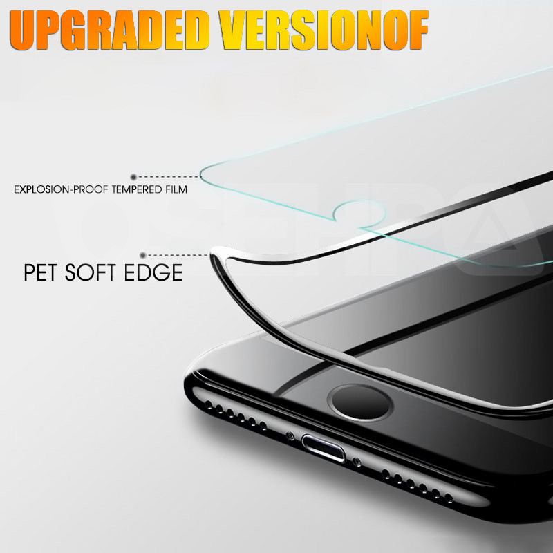 Image 2 - 10D Curved Edge Full Cover Tempered Glass on the For iPhone X XR XS Max Screen Protective Glass For iPhone 7 8 6 6S Plus Film-in Phone Screen Protectors from Cellphones & Telecommunications