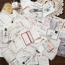 Yoofun 60 folhas/bloco 4 tipos material criatividade almofadas de memorando para bala journaling scrapbooking decoração colagem não-pegajoso