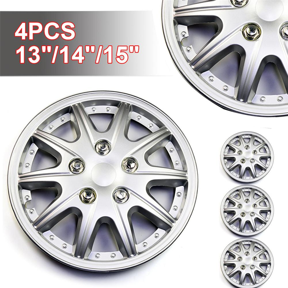 4PCS <font><b>Car</b></font> <font><b>Wheel</b></font> <font><b>Cover</b></font> <font><b>Wheel</b></font> <font><b>Cover</b></font> Decorative <font><b>Cover</b></font> <font><b>Car</b></font> <font><b>Wheel</b></font> Hub <font><b>Cover</b></font> 13-Inch <font><b>14</b></font>-Inch 15-Inch <font><b>Wheel</b></font> <font><b>Cover</b></font> image