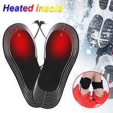 Heated Insoles Electric Foot Clothing Snow Heating Home Furnishing Keep Warm Skiing Warmer With battery box