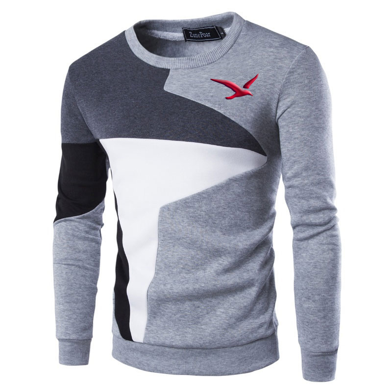 NEW Sweaters Men Firebird Printe Casual O-Neck Slim Cotton Knitted Mens Sweaters Pullovers Men Brand Clothing