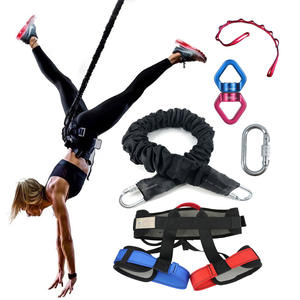 Fitness-Equipment Dance-Bungee Gym 50-110kg Heavy-Rope Training Workout Gravity Yoga
