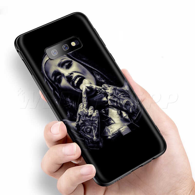 Webbedepp kardeş tarzı rahibe kız samsung kılıfı Galaxy S7 S8 S9 S10 artı kenar not 10 8 9 A10 A20 A30 a40 A50 A60 A70