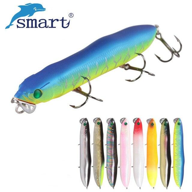 Smart Pencil Fishing Lure 130mm 25g Top pływający na wodzie twarda przynęta Isca sztuczne Pesca Peche Leurre Dur karpiowe woblery