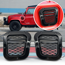 Car auto parts tuning air vent side vents grill 1pair left and right ABS for Land rover defend parts